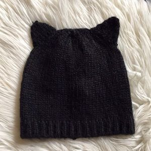 Accessories - [$5 Add-On] Knit Toque with Cat Ears